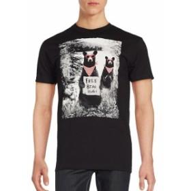 ライオット ソサエティ メンズ スポーツ アウトドア Bear Graphic T-Shirt