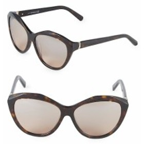 スワロフスキー レディース サングラス 54MM Crystal Cat-Eye Sunglasses