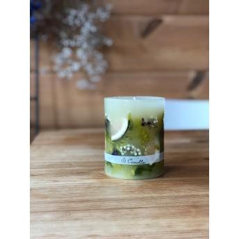 citrus botanical candle〜アンティーク仕上げ