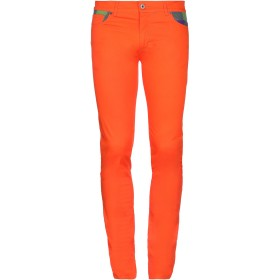 《期間限定 セール開催中》MOSCHINO メンズ パンツ オレンジ 48 コットン 98% / ポリウレタン 2%