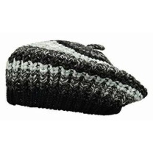 サン ディエゴ ハット カンパニー レディース ハット キャップ 帽子 KNH3594 Marled Knit Beret