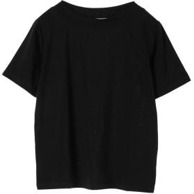 【5,000円以上お買物で送料無料】ボートネックTシャツ