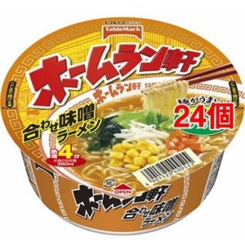 ホームラン軒 合わせ味噌ラーメン(24コ)[カップ麺]
