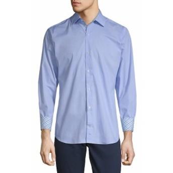 テイラーバード Men Clothing Behan Cotton Button-Down Shirt