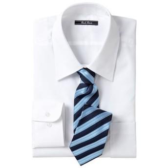 【メンズ】 形態安定ビジネスシャツ(長袖) ■カラー:レギュラーカラー ■サイズ:LL
