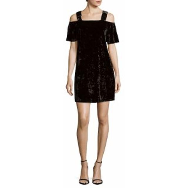 ナネットレポー レディース ワンピース Cold-Shoulder Velvet Dress