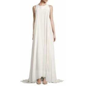 ザック ポーゼン レディース ワンピース Silk Crepe Gown