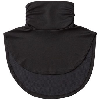 放熱吸汗付け襟風UVネックカバー美活計画 - セシール ■カラー:ブラック