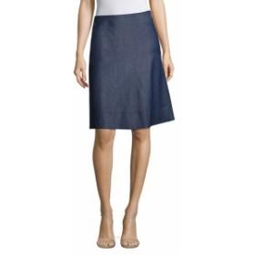 ヒューゴボス レディース スカート Malrehna Chambray A-Line Skirt
