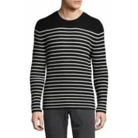 ヴィンス Men Clothing Cashmere Bretton Stripe Crew Sweater