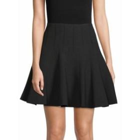 BCBG マックスアズリア レディース スカート A-Line Godet Skirt