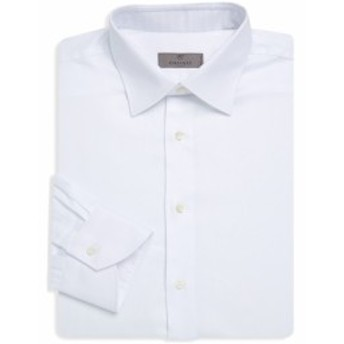 カナリ Men Clothing Classic Cotton Dress Shirt