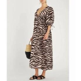 ジマーマン ワンピース juniper linen dress Zebra