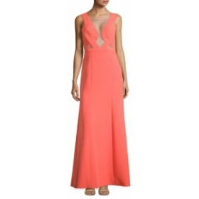 BCBG マックスアズリア レディース ワンピース Woven Evening Gown