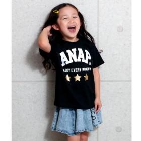 [マルイ]【セール】箔星ANAPロゴBIGTシャツ/アナップキッズ&ガール(ANAP KIDS&GIRL)