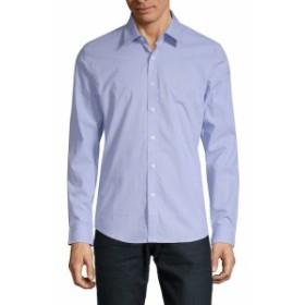 ハイデンヨー Men Clothing Cotton Slim-Fit Button-Down Shirt