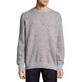 ブルネロクチネリ Men Clothing Rib-Trimmed Graphic Sweatshirt