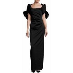 バッジリーミシュカ レディース ワンピース Pleated Cluster Floor-Length Dress