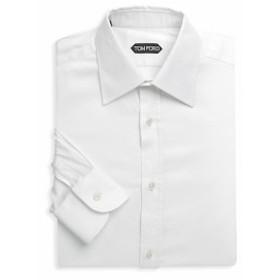トムフォード Men Clothing Long-Sleeve Cotton Dress Shirt