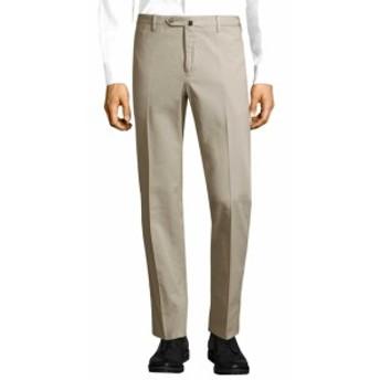 PTゼロチンクエ Men Clothing Slim Fit Flat Front Pant