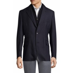 コーネリアーニ Men Clothing Asymmetric Suit Jacket