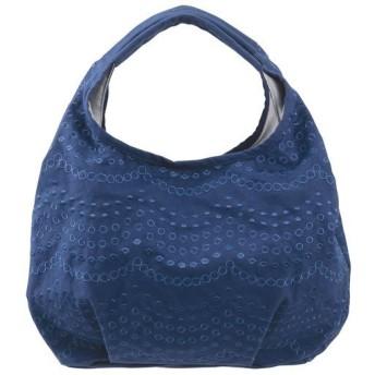 波柄バッグ - セシール ■カラー:ブルー系