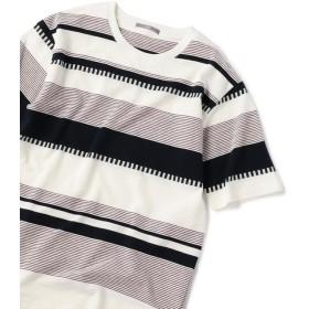 【シップス/SHIPS】 SU: 梨地 ボーダー Tシャツ 19SS