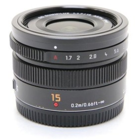 《並品》Panasonic LEICA DG SUMMILUX 15mm F1.7 ASPH.