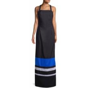 MDS ストライプス レディース ワンピース Jackie Sheath Cotton Dress