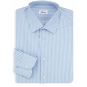 ブリオーニ Men Clothing Striped Dress Shirt