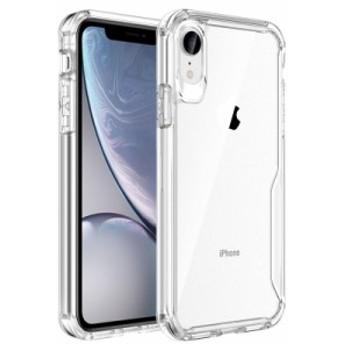 iPhone XR ケースカバーアイフォンXRための優れた透明なPCケース耐衝撃性ドロップ耐性アンチスクラッチソフト耐久性電話カバー