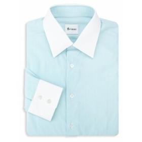 ブリオーニ Men Clothing Contrast Dress Shirt