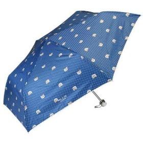 晴雨兼用傘折りたたみ傘 ヌネット ネイビーブルー