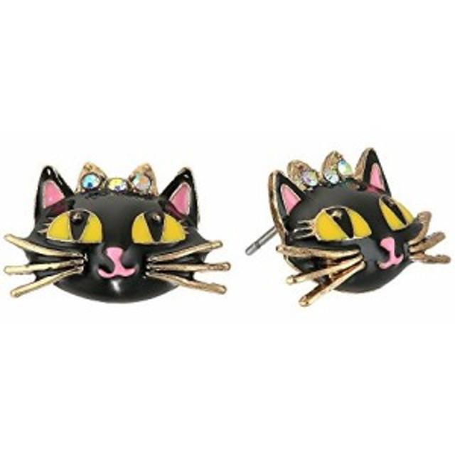 ベッツィ ジョンソン レディースアクセサリ イヤリング ピアス Enchanted Forest Cat Stud Earrings