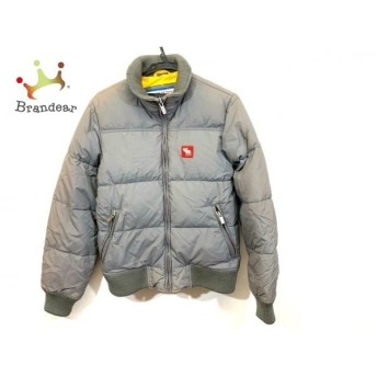 アバクロンビーアンドフィッチ Abercrombie&Fitch ダウンジャケット サイズS メンズ グレー 冬物 新着 20190517