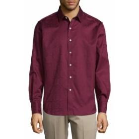ロバートグラハム Men Clothing Cotton Pattern Button-Down Shirt