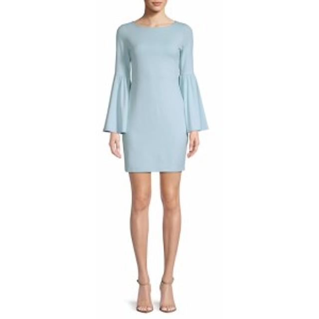 スサナモナコ レディース ワンピース Bryn Bell-Sleeve Dress