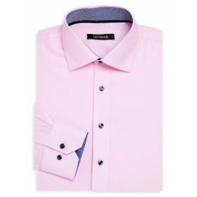 レビナス Men Clothing Contemporary-Fit Cotton Dress Shirt