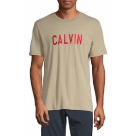カルバンクラインジーンズ Men Clothing Graphic Cotton Tee