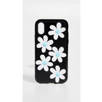 ソニックス iPhone (X)ケース Patent Daisy Leather iPhone X Case Patent Daisy