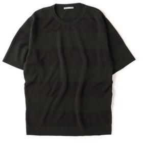 【シップス/SHIPS】 SU: TECH ボーダー ニット Tシャツ