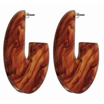 ケネス ジェイレーン レディースアクセサリ イヤリング ピアス Gold Resin Tortoise Earrings