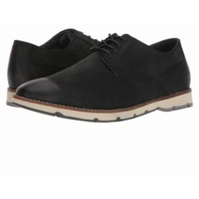 ハッシュパピー 革靴・ビジネスシューズ Hayes PT Oxford Black Nubuck