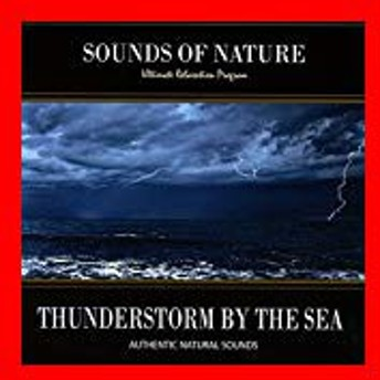 Thunderstorm By the Sea (Sounds of Nature) [CD] Relaxing Soun…
