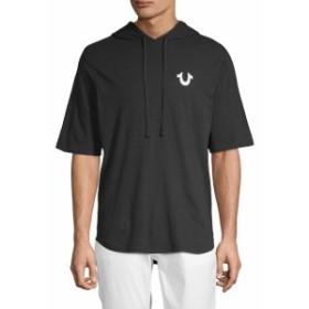 トゥルー リリジョン Men Clothing Graphic Cotton Hoodie