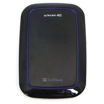 【中古】SEIKO SoftBank ULTRA WiFi 4G 101SI タキオンブラック 訳あり