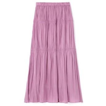 PROPORTION BODY DRESSING / プロポーションボディドレッシング ギャザーサテンスカート
