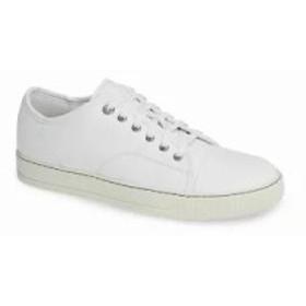 ランバン スニーカー Low Top Sneaker Optic White