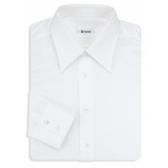 ブリオーニ Men Clothing Cotton Dress Shirt