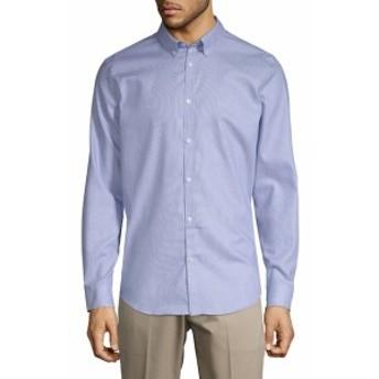 カルバンクライン Men Clothing Infinite Cool Button-Down Shirt